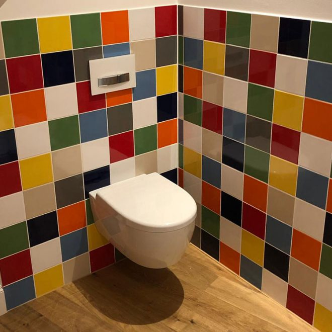 Buntes-Badezimmer